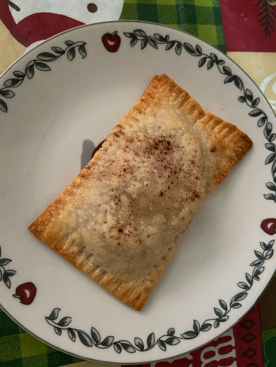 Homemade apple cinnamon pop tarts
