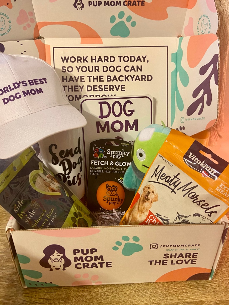 Pup Mom Crate